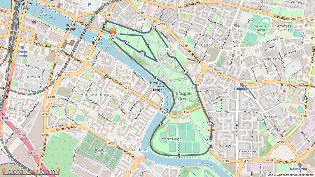 Glasgow Green 5k