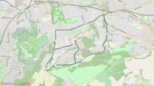 Castlemilk running route